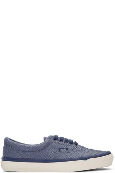 Vans - Blue WTAPS Edition OG Era LX Anaconda Sneakers