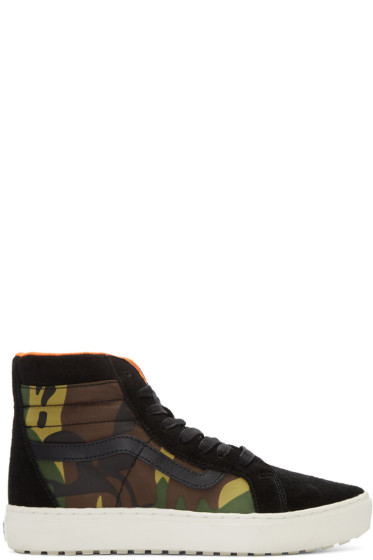 Vans - Black London Undercover Edition SK8-Hi MTE Cup LX Sneakers