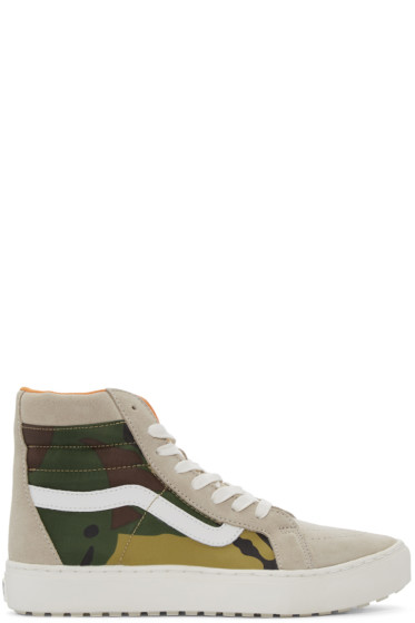 Vans - Beige London Undercover Edition SK8-Hi MTE Cup LX Sneakers