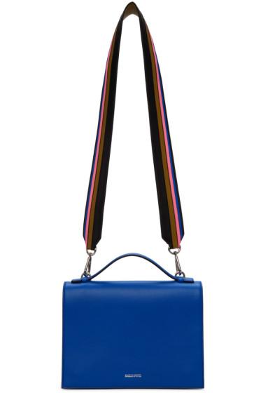 Emilio Pucci - Blue Large Logo Shoulder Bag