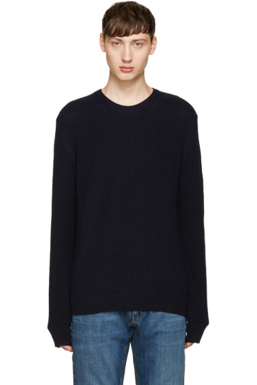 Éditions M.R  - Navy Merino Sweater