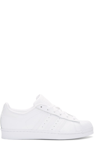 adidas Originals - White Superstar Sneakers