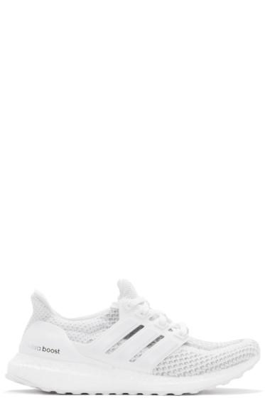 adidas Originals - White Ultra Boost Sneakers