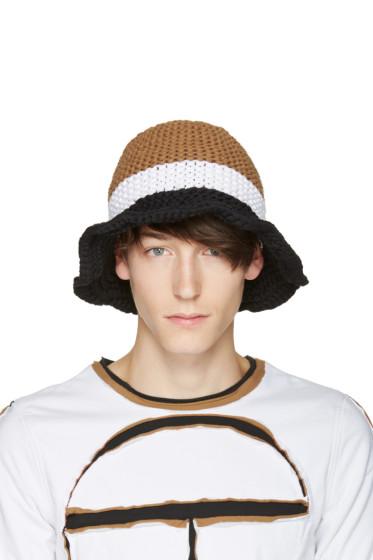 Telfar - Tricolor Knit Bucket Hat