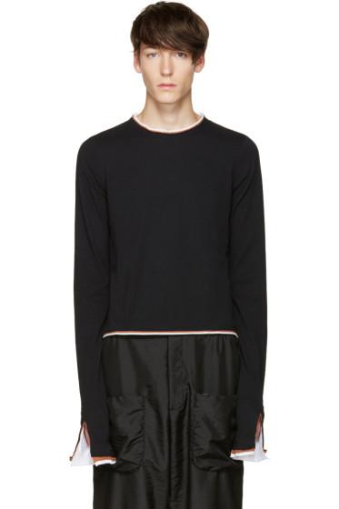Telfar - Black Ringer T-Shirt