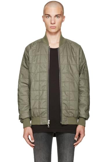 John Elliott - Green Quentin Flight Jacket