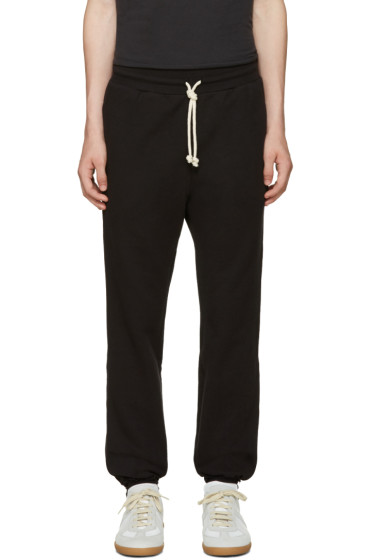 John Elliott - Black Raw Edges Lounge Pants