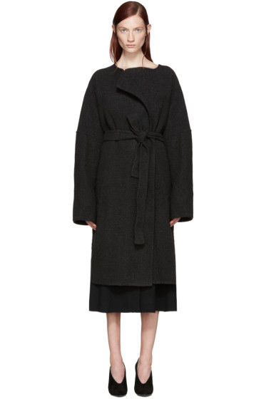 Protagonist - Grey Wool Beuys Coat