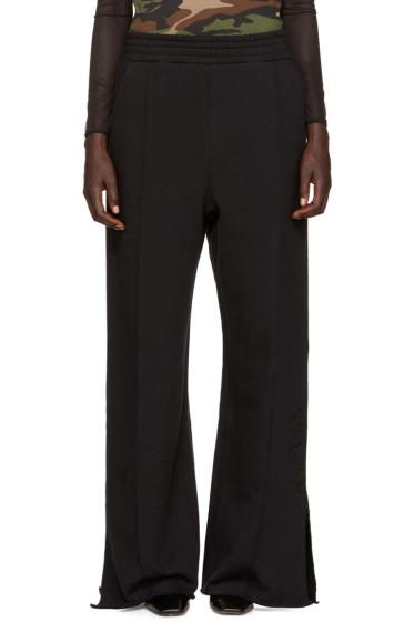 Alyx - Black Wide-Leg Lounge Pants
