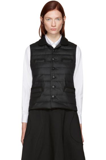 Tricot Comme des Garçons - Black Down Pockets Vest