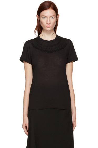 Tricot Comme des Garçons - Black Collar Detail T-Shirt