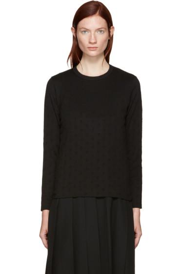 Tricot Comme des Garçons - Black Polka Dot T-Shirt