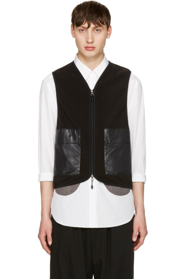 Ganryu - Black Tone-On-Tone Vest