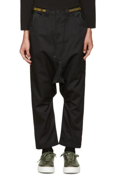 Ganryu - Black Sarouel Trousers