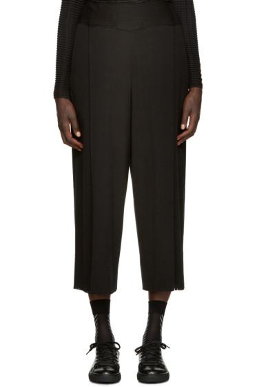 Issey Miyake - Black A-POC Lounge Pants