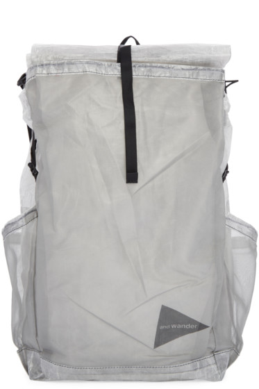 and Wander - Clear Cuben Fiber Backpack