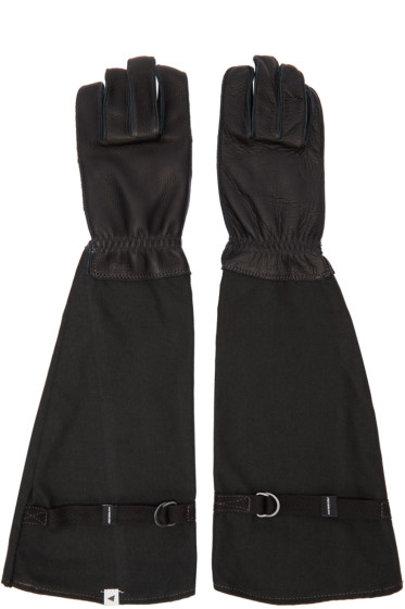 and Wander - Black Flame-Resistant Takibi Gloves
