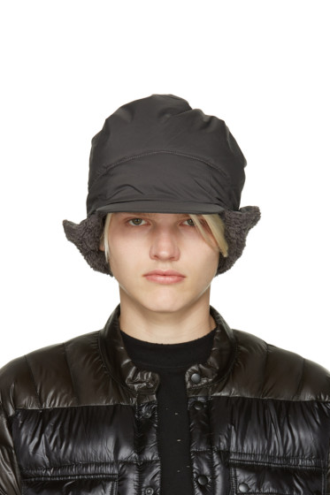 and Wander - Grey Primaloft Aviator Hat