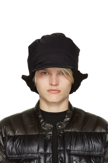 and Wander - Black Primaloft Aviator Hat