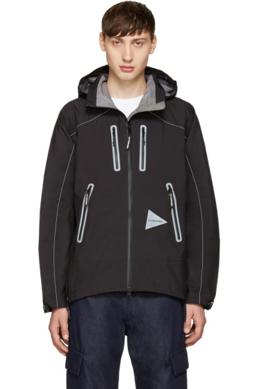 and Wander - Black eVent Jacket
