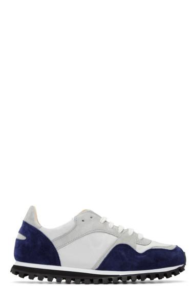 Spalwart - Blue & Grey Marathon Trail Sneakers
