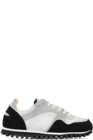 Spalwart - Black & Grey Marathon Trail Sneakers