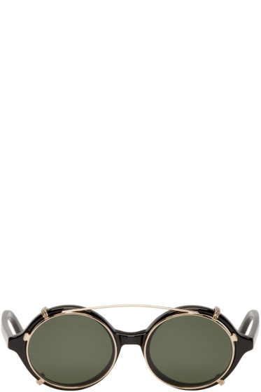 Han Kjobenhavn - Black Clip-On Doc Sunglasses