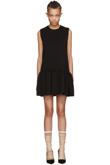 Miu Miu - Black Drop Waist Dress