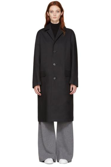 Mackintosh - Black Bal Collar Coat