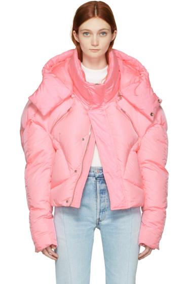 Chen Peng - Pink Down Jacket