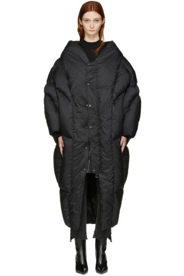 Chen Peng - Black Down Coat