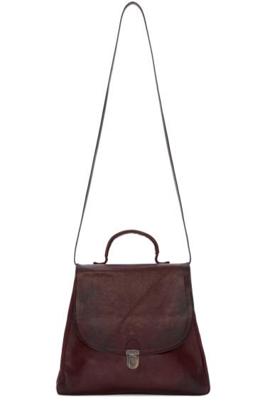 Cherevichkiotvichki - Burgundy Small Lock Bag