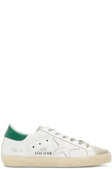 Golden Goose - White Superstar Sneakers