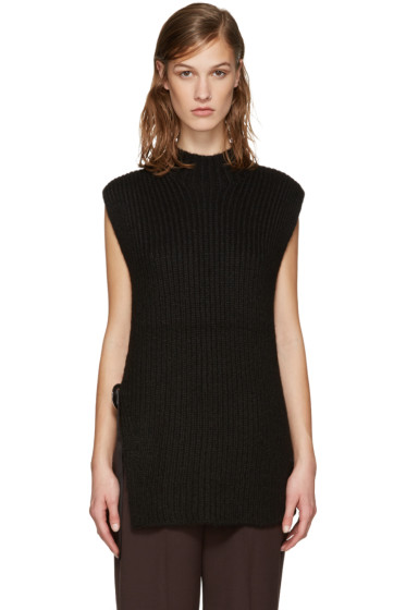 3.1 Phillip Lim - Black Eyelet Sweater
