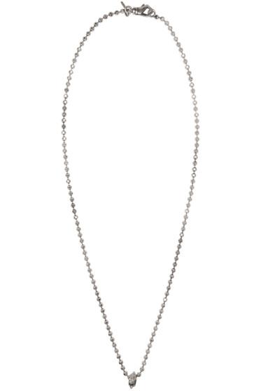 Emanuele Bicocchi - Silver Disco Chain Necklace