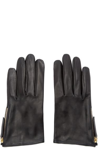 Want Les Essentiels - Black Madeleine Short Gloves