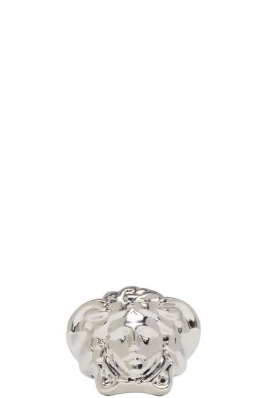 Versace - Silver Medusa Ring