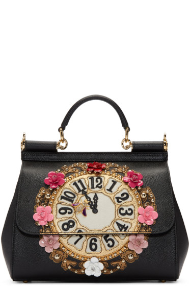 Dolce & Gabbana - Black Medium Miss Sicily Bag