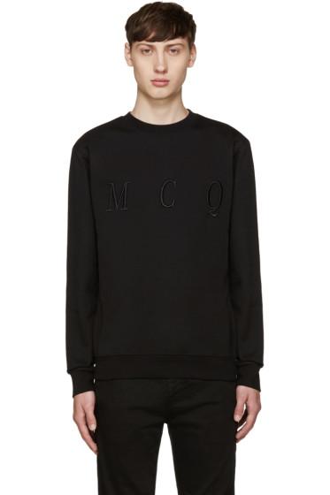 McQ Alexander Mcqueen - Black Logo Pullover