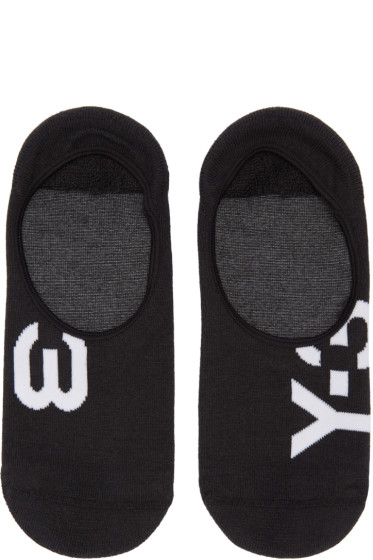Y-3 - Black Invisible Socks