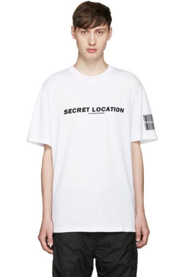 Alexander Wang - White Mixtape T-Shirt