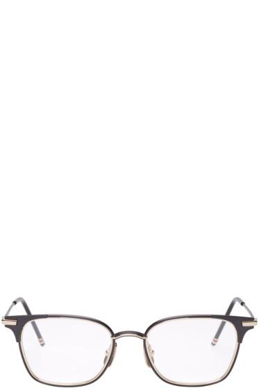 Thom Browne - Black TB107 Glasses