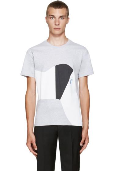 Kenzo - Grey Graphic T-Shirt