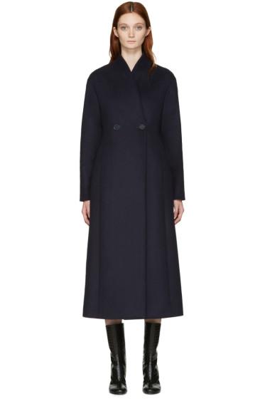 Stella McCartney - Blue Wool Lisis Coat