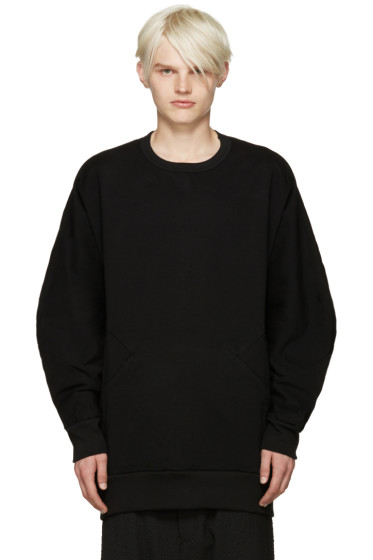 Attachment - Black Accent Seam Sweatshirt