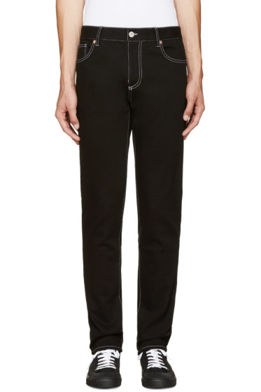 Moschino - Black Slim-Fit Jeans