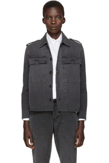 Amo - Black Military Jacket