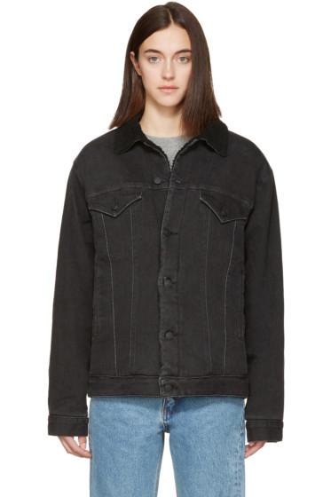 Earnest Sewn - Black Denim Oversized Cecil Jacket