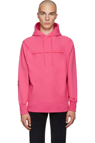 032c - Magenta Pyrate Society Hoodie