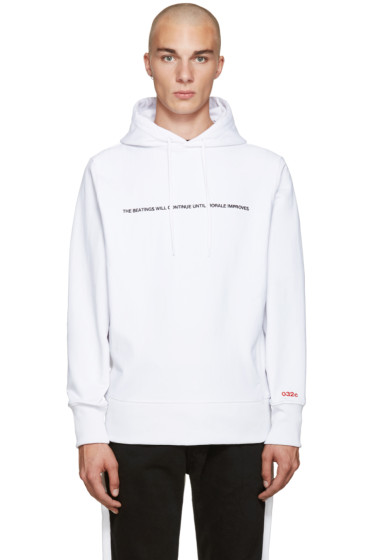 032c - White Pyrate Society Hoodie